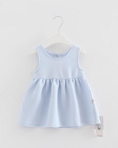 Itty Bitty Baby Blue Angel Wings Dress