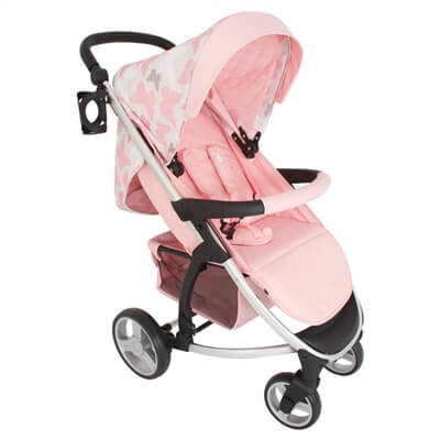 My Babiie Katie Piper MB200 Pink Butterflies Pushchair