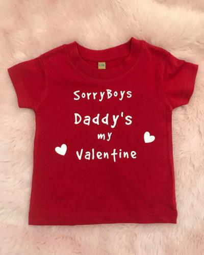 Itty Bitty Sorry Boys Valentine T Shirt