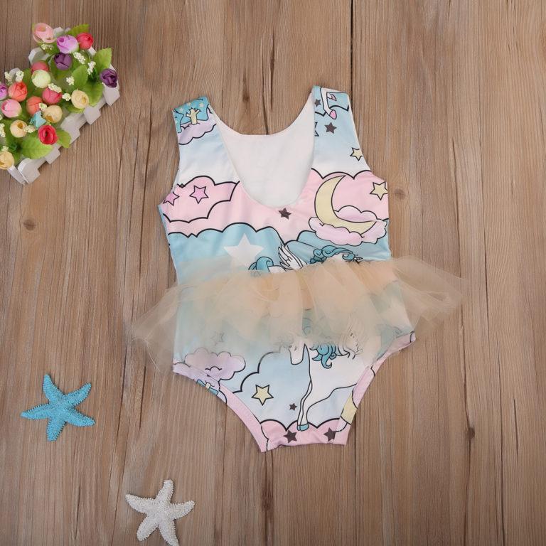 Baby Boutique Pink Magic Unicorn Tutu Bodysuit