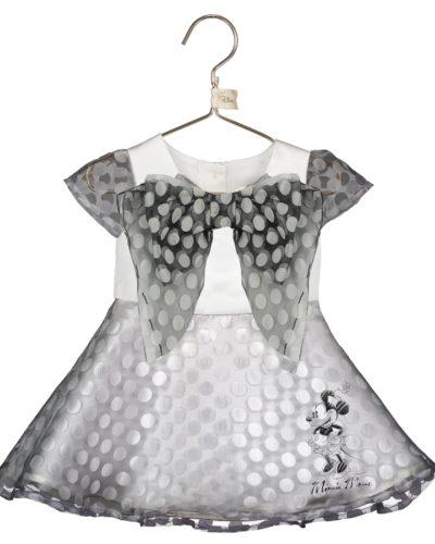 Disney Boutique Baby Minnie Polka dot organza dress with bloomers & headband