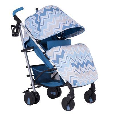 My Babiie Dreamiie by Samantha Faiers MB51 Blue Chevron Pushchair Stroller