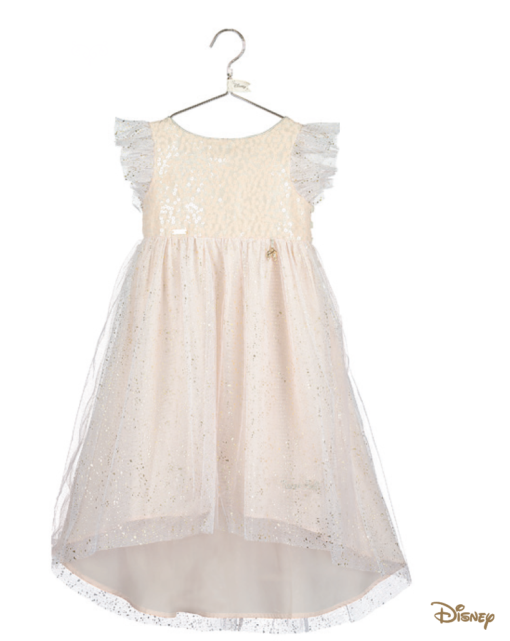 Disney Boutique Tinker Bell Sparkle dress with dipped hem