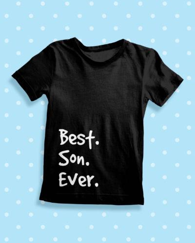 Itty Bitty Best Son Ever T Shirt