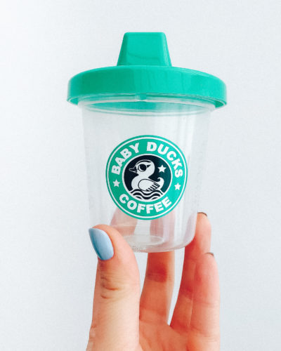 Baby Duck Coffee | Babychino Sippy Cup