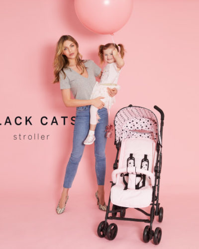 Abbey Clancy Catwalk Collection MB02 Black Cats Stroller