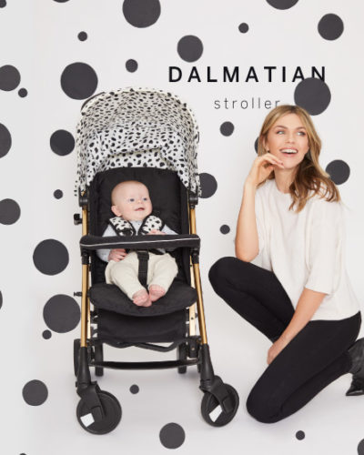 Abbey Clancy Catwalk Collection MB51 Gold Dalmatian Stroller