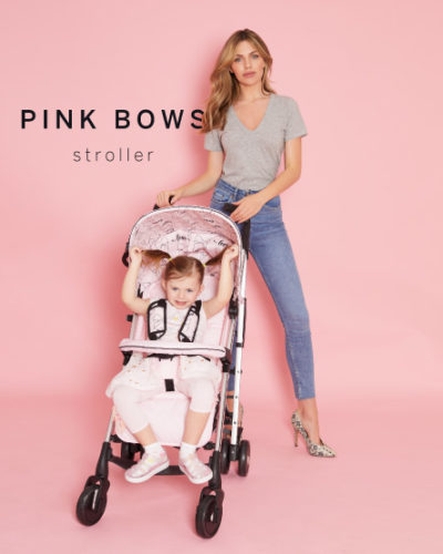 Abbey Clancy Catwalk Collection MB51 Pink Bows Stroller