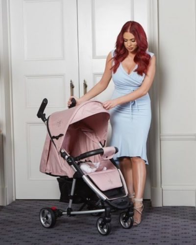 Amy Childs Roma Rizzo Pink Pushchair