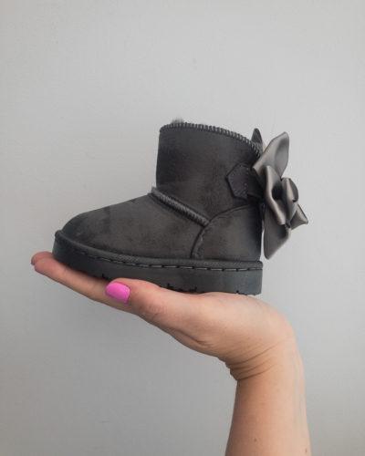 Itty Bitty Alaskan Grey Snuggle Boots