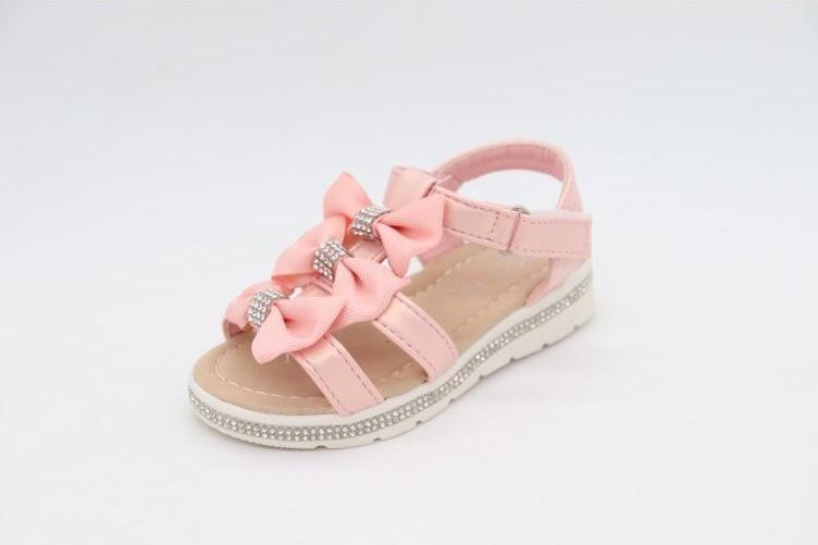 Mia Diamante 3 Pink Bow Sandals