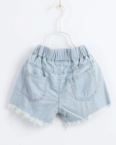 Itty Bitty Pink/Blue Sequin shorts
