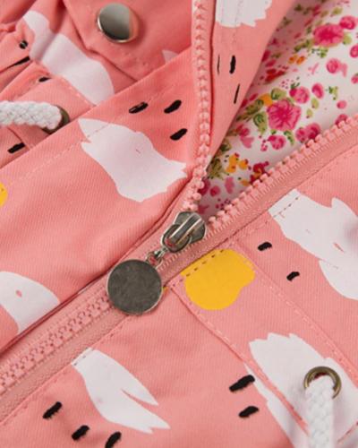 Itty Bitty Pink Clouds Summer Jacket