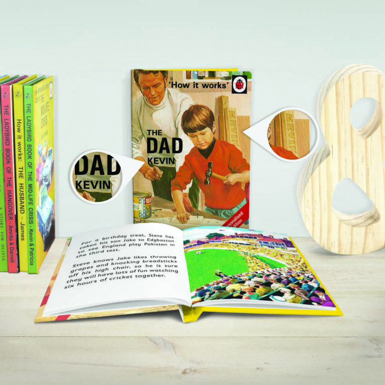 The Dad: A Ladybird Personalised Book for Daddys