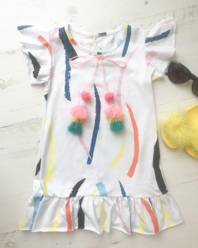 Itty Bitty Summer Tassel Beach Dress
