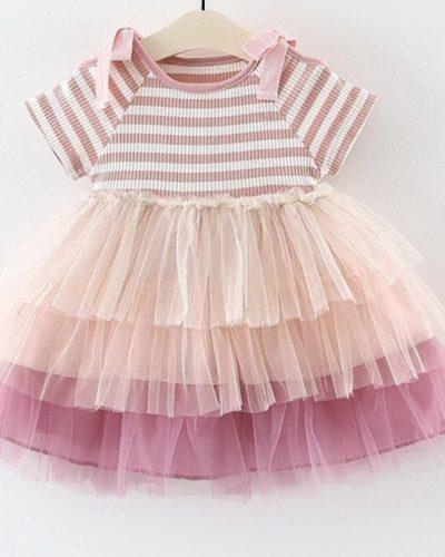 Itty Bitty Stripe Tutu Princess Dress