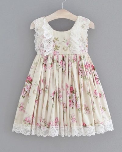 Itty Bitty Vintage Floral Dress
