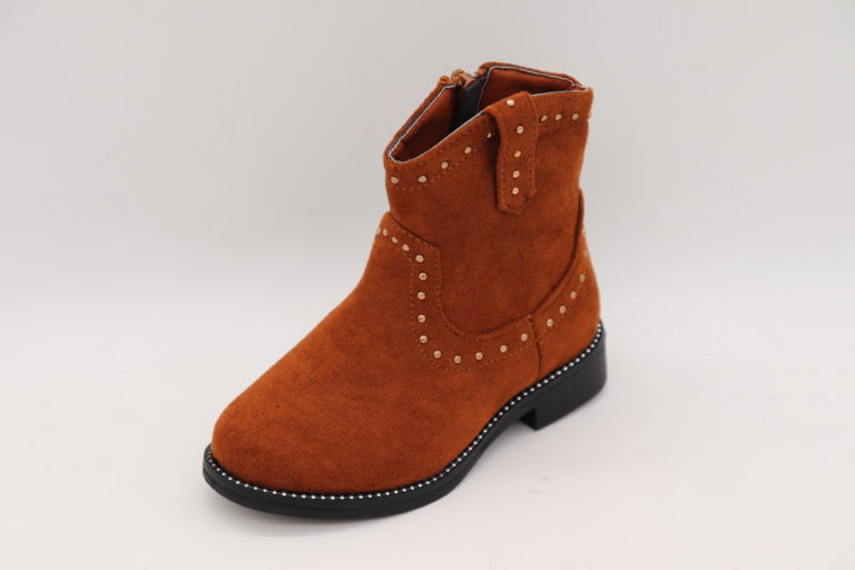 Itty Bitty Gingerbread Studded Cowboy Boots