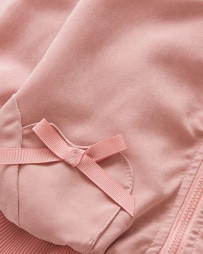 Itty Bitty Pink Bow Baby Girls Jacket