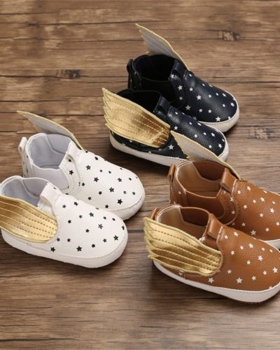 Itty Bitty Wings Soft Sole Trainers