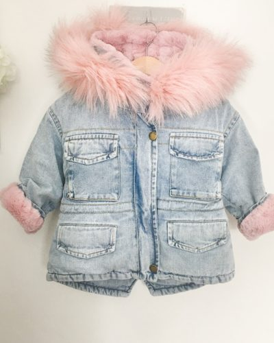 Itty Bitty Pink Super Snuggle Winter Fashion Coat