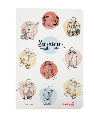 Paddington Bear Spotty Notebook