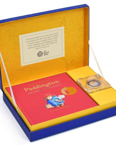 Paddington Bear Gold Royal Mint Collection Box