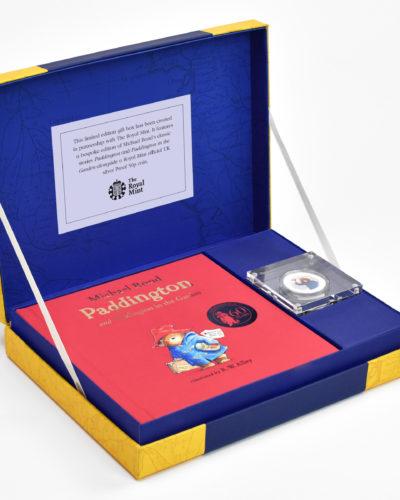 Paddington Bear Silver Royal Mint Collection Box