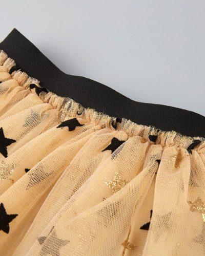 Itty Bitty Black & Gold Swan Set