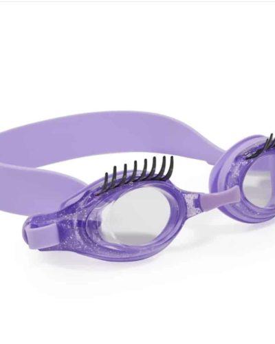Itty Bitty Girls Bling2o Blueberry Eyelash Swimming Goggles