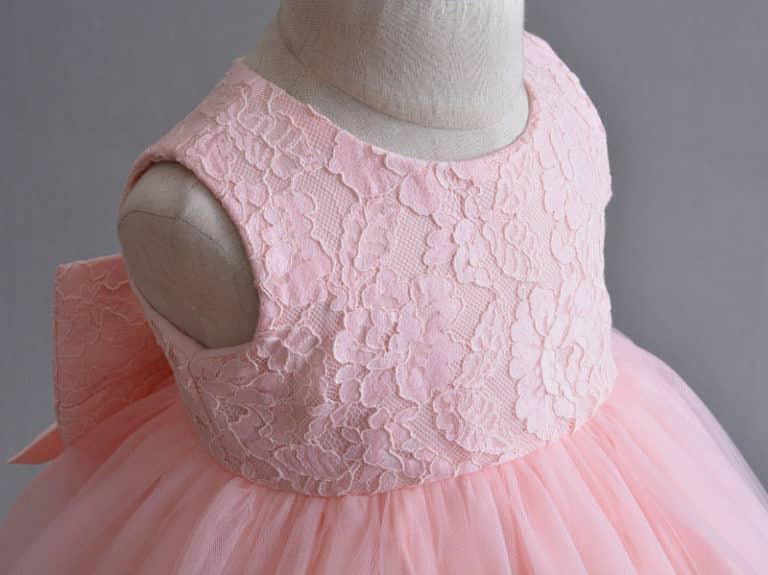 Pink Princess Bow Dress