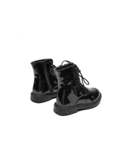 Itty Bitty Princess Black Patent Super Shine Boots
