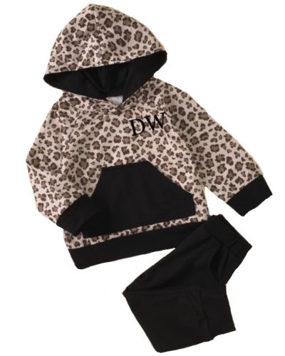 Itty Bitty Personalised Animal Print Tracksuit
