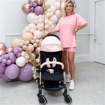 Billie Faiers Rose Gold Blush Ultra Light Stroller MBX4