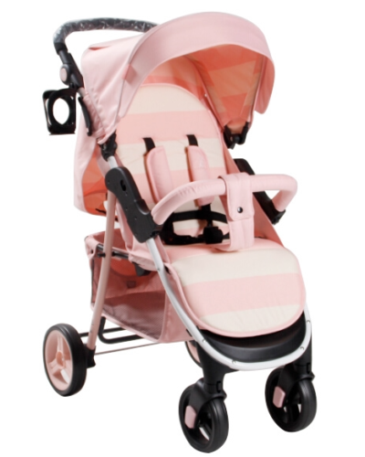 Billie Faiers MB30 Pink Stripes Pushchair