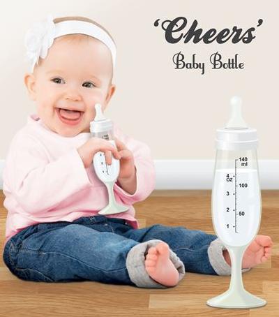Cheers Baby Bottle