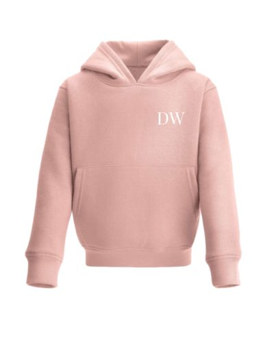Itty Bitty Limited Edition Girls Pink & Rose Gold Sparkle Personalised Hooded Tracksuit