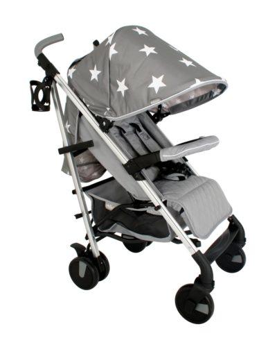 Billie Faiers MB51 Grey Stars Lightweight Stroller