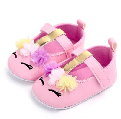 Itty Bitty Pink Unicorn Soft Sole Shoes