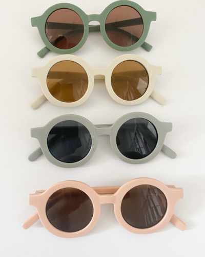 Itty Bitty Matte Grey Unisex Sunglasses