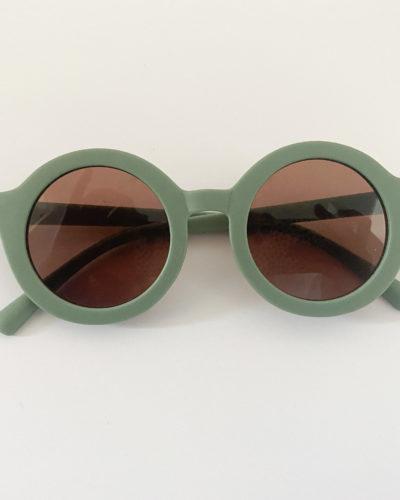 Itty Bitty Sage Green Unisex Sunglasses