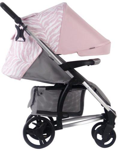 Dani Dyer MB200 Pink & Grey pushchair