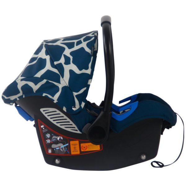 Dani Dyer Navy Giraffe Travel System