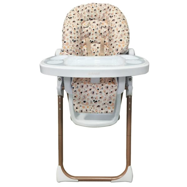 Dani Dyer Blush Leopard Premium Highchair