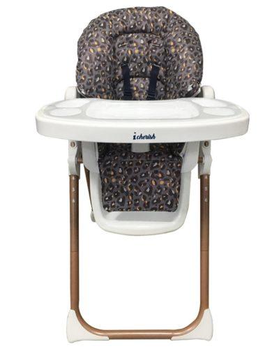 Dani Dyer Navy Leopard Premium Highchair