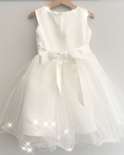 Itty Bitty Isla Sparkle and Pearl Tulle dress